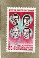 HAUTE-VOLTA : Racisme : Année Internationale Contre Le Racisme Et La Discrimination Raciale - - Upper Volta (1958-1984)