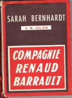 "1957 Théâtre SARAH BERNHARDT ""Madame Sans-Gêne"" - Madeleine RENAUD, Jean DESAILLY, J-L BARRAULT, Simone VAELERE - Programs"