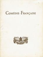 """1955 Programme Théâtre LA COMEDIE FRANCAISE """"LA PARISIENNE"""" D´Henry BECQUE- Georges DESCRIERES, François CHAUMETTE - Programs"""