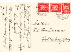 ALLEMAGNE Carte-Lettre  écrite De BERLIN-ZEHLENDORF Du 23-12-1926 Via VALDENBURG - Deutschland