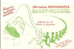 Buvard CADET ROUSSEL Fabriations NOVOSOUPLE Elégance Souplesse Solidité - Electricité & Gaz