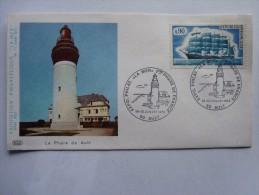 """Exposition Philatélique """"La Mer"""" Le Phare De AULT 14-15 Juillet 1973 - 1961-...."""