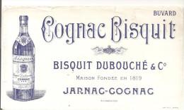 Buvard COGNAC BISQUIT BISQUIT DUBOUCHE & Co Maison Fondée En 1819 JARNAC-GOGNAC - Liquor & Beer