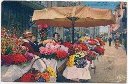 L100B.295 - Nice - Le Marché Aux Fleurs   - ADIA  N°304 - Petits Métiers