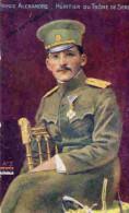03TZ-1- Prince Alexandre Héritier Du Trône De Serbie - Publicité BANANIA - Characters