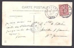 Hautes Pyrénées - Cachet Pointillé De GEDRE - Postmark Collection (Covers)