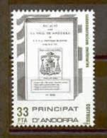 TIMBRE NOUVEAU ANDORRE 1982 LIVRE D´ANCIENNES LOIS JUDICIAIRES D´ANDORRE - Disfraces