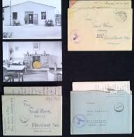 Lot 3 Briefe Feldpost Karl Wurm Stab Lager Linz Mauthausen