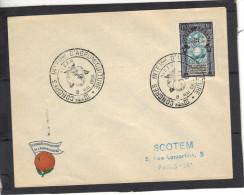 Algérie FDC Yvert 311  Alger 1954 Congrès Agrumiculture - Fruits - Covers & Documents