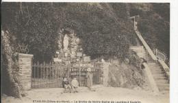 Etables  Grotte De N.D.de Lourdes   à Godelin   Religion - Etables-sur-Mer