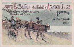 Lausanne Exposition D'Agriculture 1910 (2425) - VD Vaud
