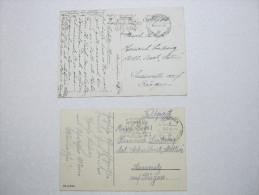 1941/42  ,  MÜNCHEN , 2 Feldpostkarten - Deutschland