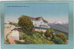 GRAND  HOTEL  MOTTARONE  ( M  1491  A. M. )  -  1914  -  BELLE  CARTE  - - Italia