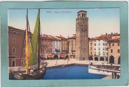 RIVA  -  PIAZZA  3  NOVEMBRE  -  1933  -  BELLE  CARTE  - - Altre Città