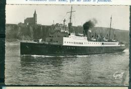 "En Normandie - Dieppe - Le S.S. ""Londres"" Sortant Du Port  - Raa83 - Ferries"