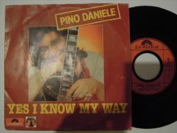 Pino Daniele - Yes I Know My Way - Polydor 821251 - Disco, Pop