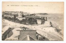 I2900 Saint Malo - Le Chateau Et La Mer - Castello Castle Schloss Castillo / Non Viaggiata - Saint Malo