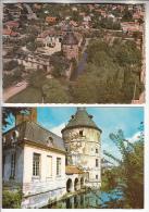 SAINTE GENEVIEVE DES BOIS 91 - Le DONJON - Petit Lot De 2 CPSM CPM GF N° 7 - Essonne (toutes Scannées) - Sainte Genevieve Des Bois
