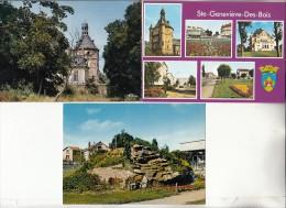 SAINTE GENEVIEVE DES BOIS 91 - Chapelle Orthodoxe Russe - Petit Lot De 6 CPSM CPM GF N° 17 - Essonne Toutes Scannées - Sainte Genevieve Des Bois