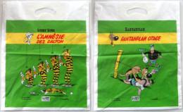 Sac En Plastique Publicitaire Lucky Luke Rantanplan - Publicité