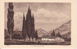 CPA La Ferme Des Cypres - E. Delebecque (13011) - Ohne Zuordnung