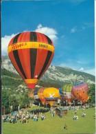 Mongolfière. Heissluftballon-Woche Flims - Cartes Postales