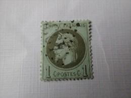 25 TTB Cote 20€. - 1863-1870 Napoléon III. Laure
