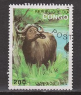 Congo Used ; NOW MANY STAMPS OF BUFFELO Buffel, Buffle, Bufalo 1993 - Koeien