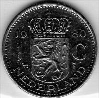 1980 Olanda - 1 Gulden - Monete