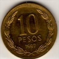 1997 Cile - 10 Pesos - Cile