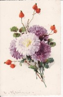 Carte Postale Fantaisie C.KLEIN - Bouquet De FLEUR  - Illustrateur - VOIR 2 SCANS - - Klein, Catharina