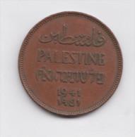 PALESTINE  2 Miles 1941 KM2 British Mandate - Coins