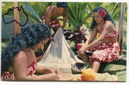 - Domestic Idyll - TAHITI -  Non écrite, Glacée, Splendide, Coins Impeccables, BE, Scans. . - Tahiti