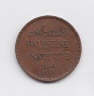 PALESTINE  1 Mil 1941 KM1  British Mandate - Coins