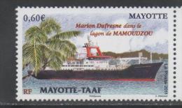 MAYOTTE, 2011, MNH,SHIPS, MARION DUFRESNE,1v - Boten