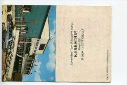 014Zb/ Reclame Kaartje  Bar Kerkschip Apostolaat Der Schippers Kaai 526 Antwerpen, Mercedes, Lada - Publicités