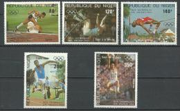 "Niger Aerien YT 320 à 324 (PA) "" JO Los Angeles "" 1984 Neuf** - Níger (1960-...)"
