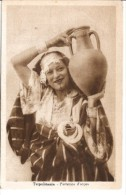 TRIPOLI LIBIA TRIPOLITANIA PORTATRICE D' ACQUA EDIT.RIPR.VIET CIRCA 1950 NON CIRCULEE NEUVE TBE GECKO - Libië