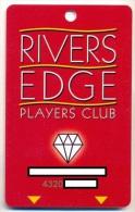 Rivers Edge Casino, Knowville, AL, U.S.A., used slot or player�s card, # riversedge-2