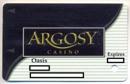 Argosy Casino, Riverside, MO, U.S.A., older used slot or player�s card, argosy-10