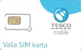 TESCO * MOBILE * GSM * SIM CARD * Tesco 01 * Slovakia - Slovaquie