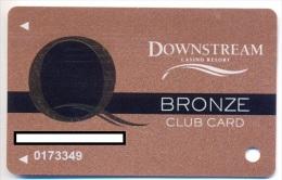 Downstream Casino / Quapaw Casino, Quapaw, OK, U.S.A., used slot or player�s card, # downstream-2