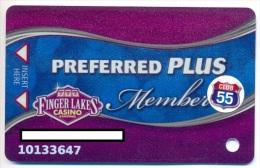 Finger Lakes Gaming, Farmington, NY,  U.S.A. older used slot or player�s card, # fingerlakes-6a