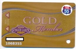 Finger Lakes Gaming, Farmington, NY,  U.S.A. older used slot or player�s card, # fingerlakes-7a