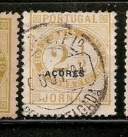 Portugal & Açores , Jornaes, Ponta Delgada 1882 (46) - Azores