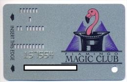Flamingo Hilton Casino,  Laughlin, NV, U.S.A., older used slot or player�s card, flamingo-8b