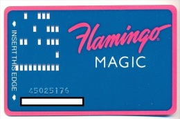 Flamingo Hilton Casino,  Laughlin, NV, U.S.A., older used slot or player�s card, flamingo-11