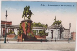 Deutschland,DEUTSCHES,ALLEMAGNE,BERLIN,NATIONALDENKMAL KAISER  WILHELM,statue,rare - Unclassified