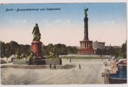 Deutschland,DEUTSCHES,ALLEMAGNE,BERLIN,BISMARCKDENKMAL UND SIEGESSAULE,statue,rare - Unclassified