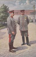 1915 D. Reich MILITARIA, MiF. BESSERE ROTES Kreuz Karte: unser Kaiser in seinem Schloss in Posen. MK